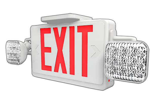 EME - LED Exit / Emergency Combo Image
