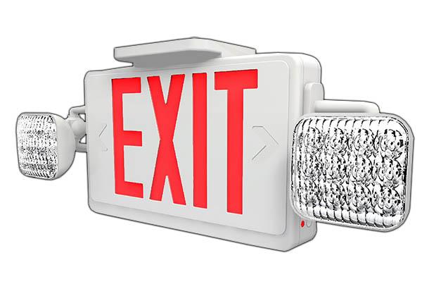 EME - LED Exit / Emergency Combo Image