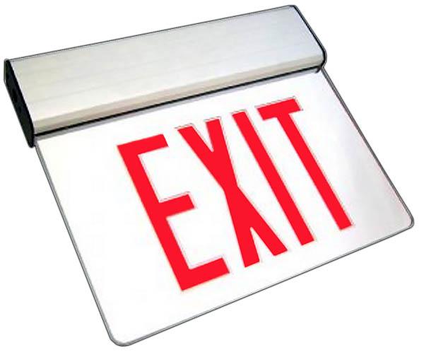 ELX - LED Edgelit Exit Sign Image