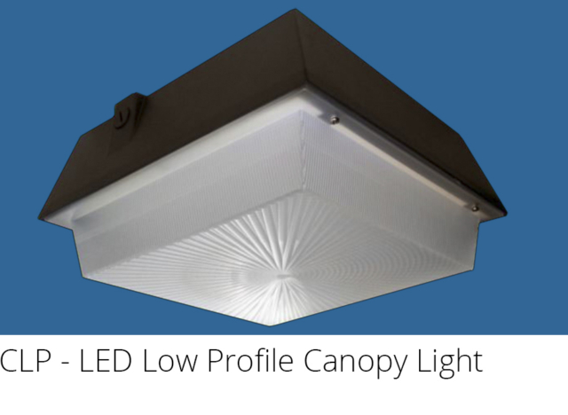 CLP - LED Low Profile Canopy Light