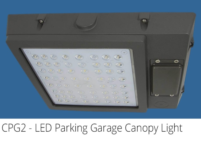 CPG2 - LED Parking Garage Canopy Light