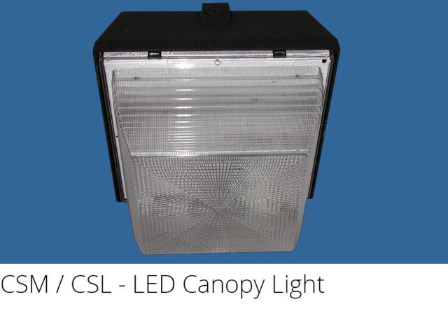 CSM / CSL - LED Canopy Light