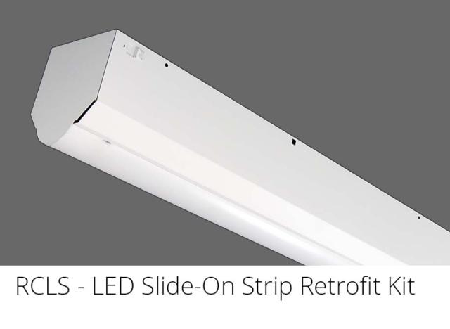 RCLS - LED Slide-On Strip Retrofit Kit