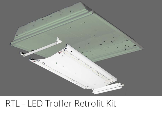 RTL - LED Troffer Retrofit Kit