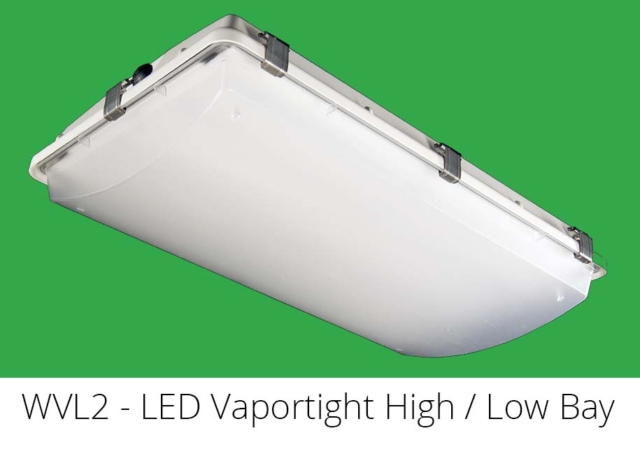 WVL2 - LED Vaportight High / Low Bay