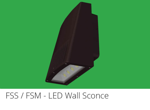 FSS / FSM - LED Wall Sconce