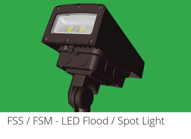 FSS / FSM - LED Flood / Spot Light