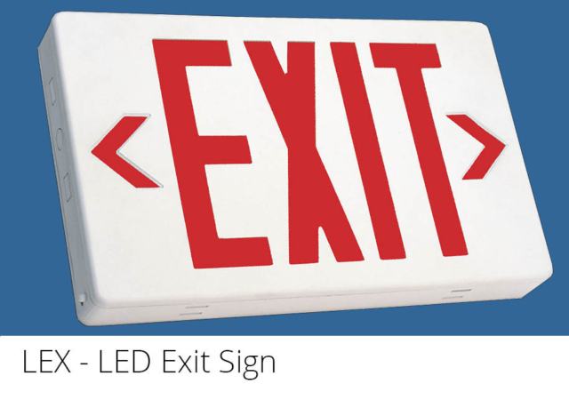 LEX - LED Exit Sign