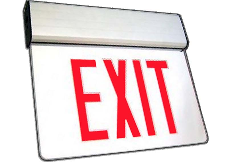 ELX - LED Edgelit Exit Sign Image