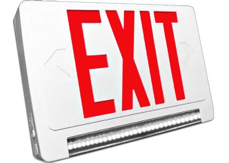 EMX - LED Exit / Lightpipe Emergency Combo Image