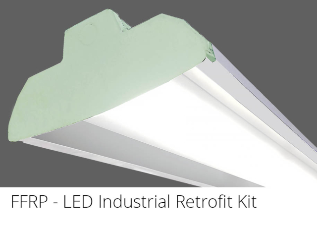 FFRP - LED Lensed Industrial Retrofit Kit