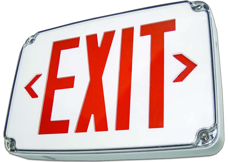 WLE - LED Wet Location Exit Image