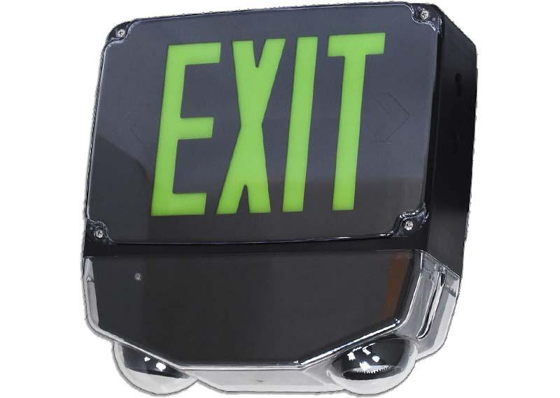 EMEW - LED Wet Location Exit / Emergency Combo Image